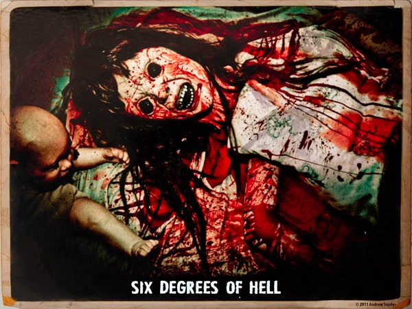 6d3s - Exclusive First Film Image From Six Degrees of Hell
