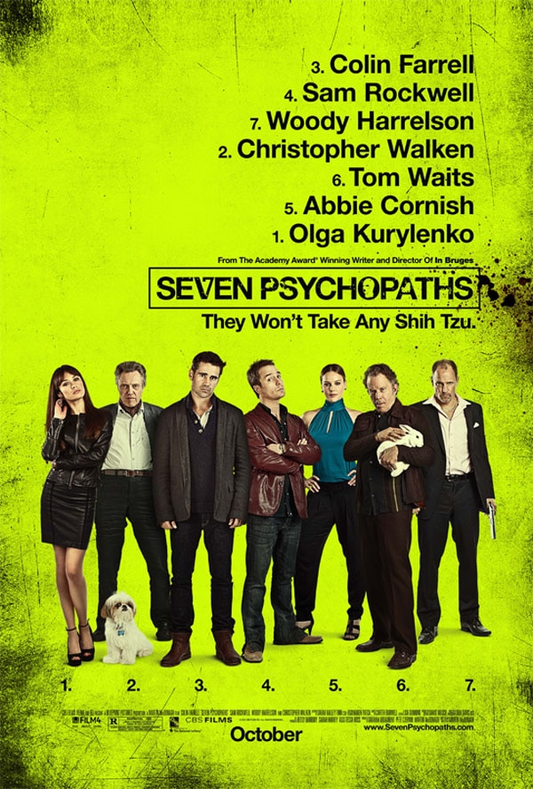 Roundtable Interview: Sam Rockwell and Christopher Walken Talk Seven Psychopaths and More