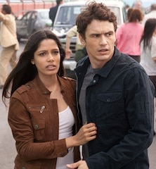 Rise of the Planet of the Apes, James Franco & Freida Pinto