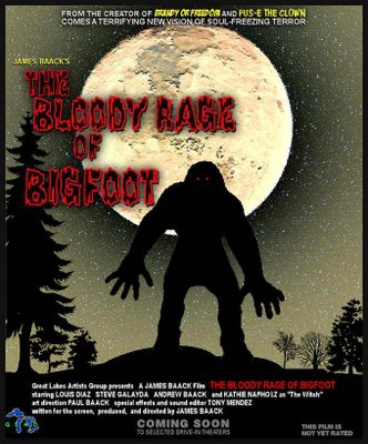 The Bloody Rage of Bigfoot Teaser Poster