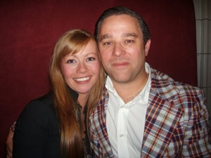 Kathleen McDermott & Andy Nyman of Dead Set!