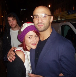 Jaime Winstone & Yann Demange (that's the one on the street outside!)