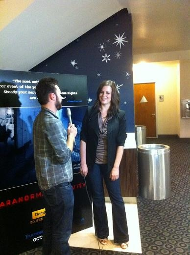 Katie Featherston at Paranormal Activity 2 Screening in Hollywood