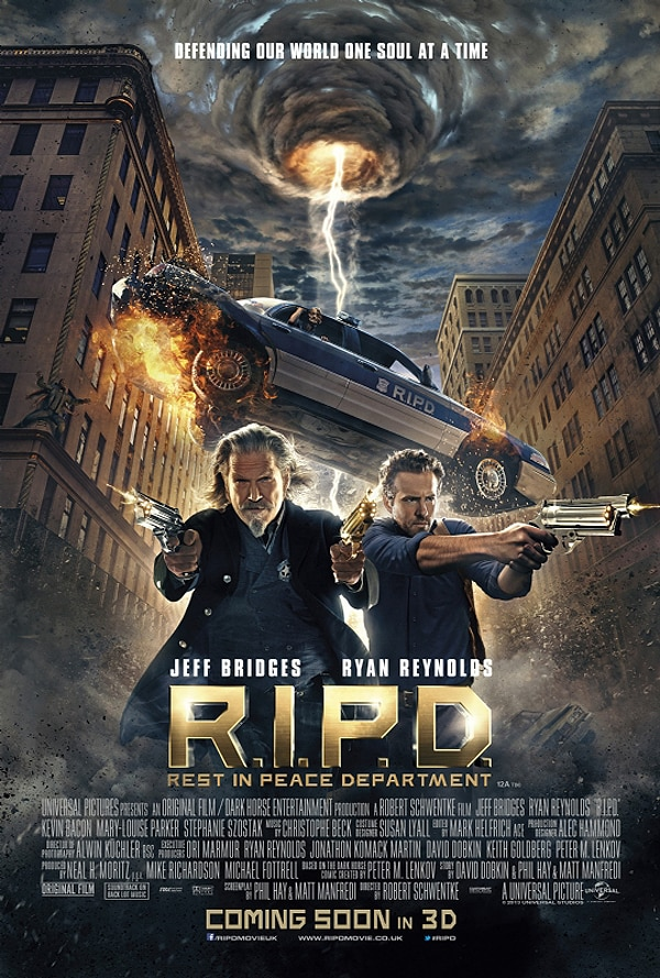 RIPD poster - Three New Clips from R.I.P.D. Take Aim at the Supernatural