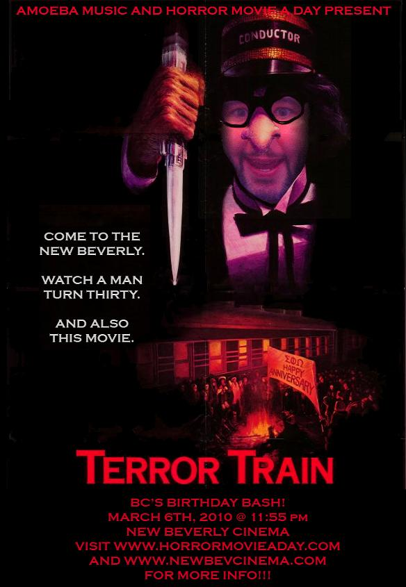 Terror Train Screening For You Lucky California Residents
