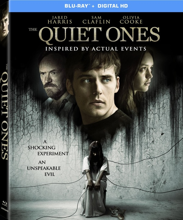 The Quiet Ones blu ray - The Quiet Ones Making Noise on Blu-ray and DVD
