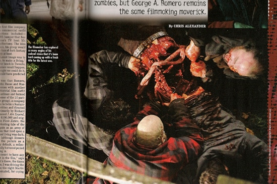 Bloody New Still from George Romero's  ... of the Dead (click for larger image)