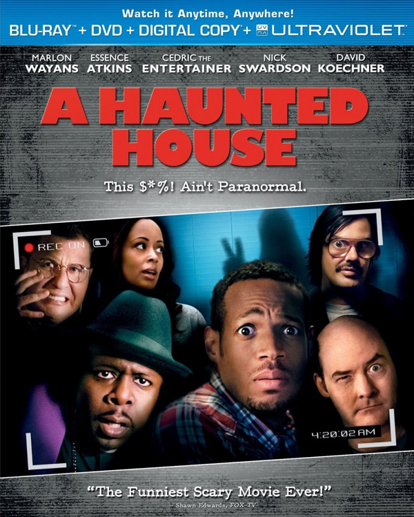 A Haunted House Starts Creaking on Blu-ray and DVD