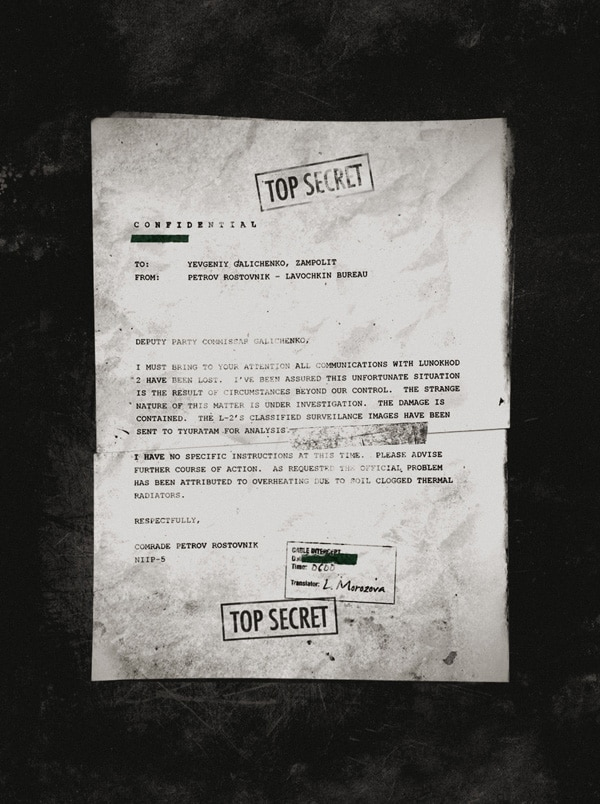 Another Leaked Apollo 18 Document Finds its Way Online (click for larger image)