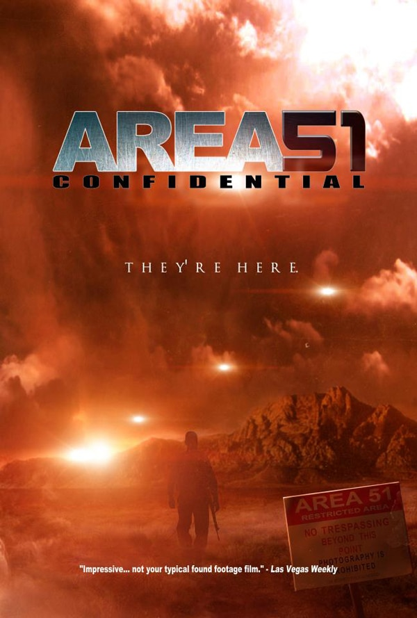 Official New Trailer and One Sheet for Area 51 Confidential