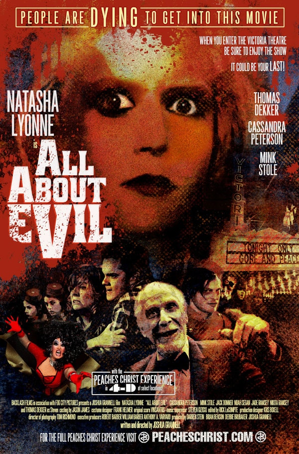 aaefinal - Final All About Evil One-Sheet and Info on the Special Los Angeles Screening