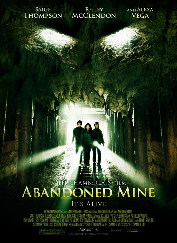 abandoned mine poster - Latest Abandoned Mine Clip Fits into Small Spaces