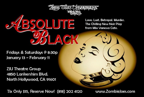 LA's ZJU Theatre Group Turning Absolute Black in the New Year