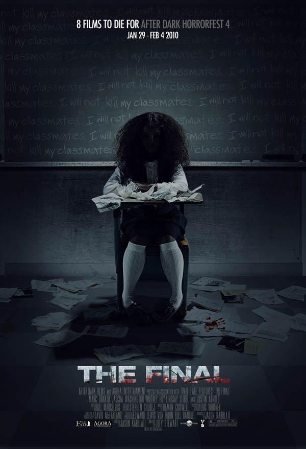 Official Horrorfest Poster for The Final