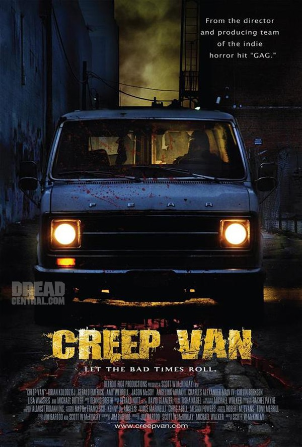 This Christmas Christine and Saw Will Carpool in a Creep Van