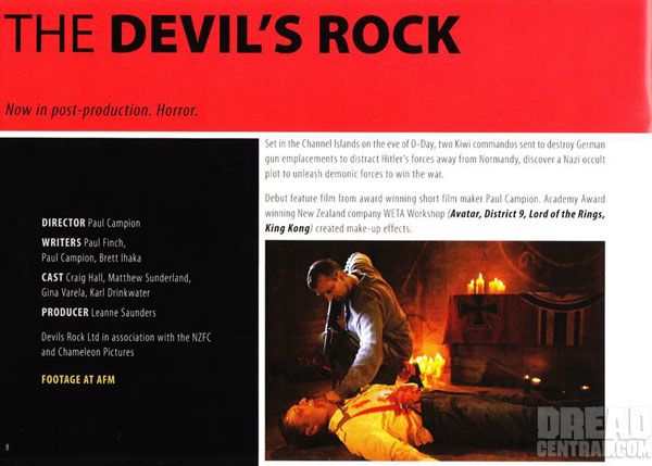AFM 2011: Demonic New Stills From The Devil's Rock