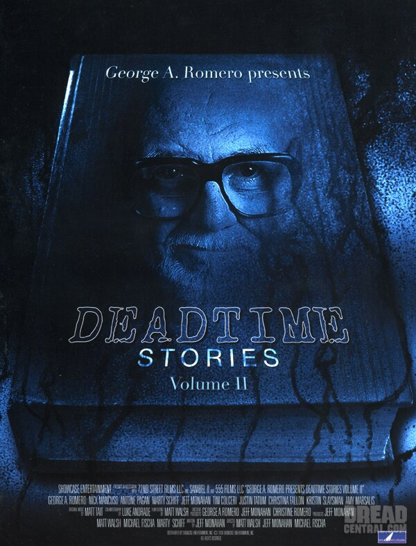AFM: Sales Art and Info Sheets: George A. Romero's Deadtime Stories Volumes I and II (click for larger image)
