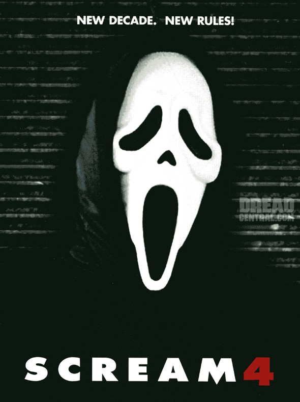 AFM: Scream 4 Early Sales Art (click for larger image)