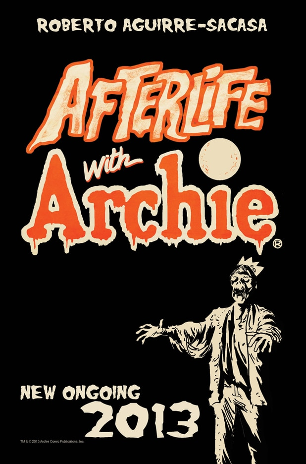 afterlife with archie - Exclusive Early Reveal of the Variant Cover for Afterlife with Archie