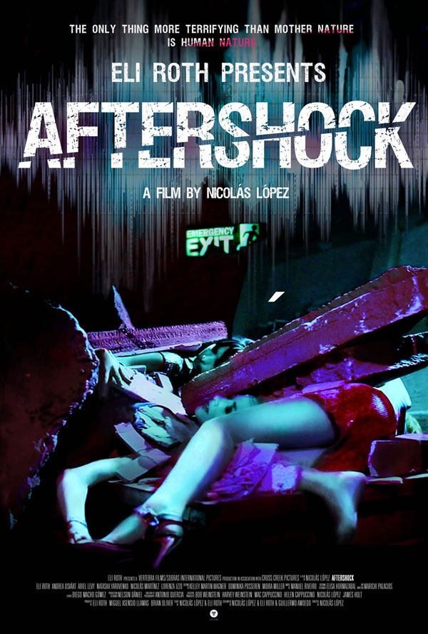 aftershock poster - UPDATE: First Look at the Theatrical Poster for Aftershock