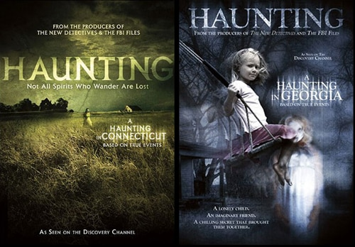 Win A Haunting in Connecticut and A Haunting in Georgia on DVD!