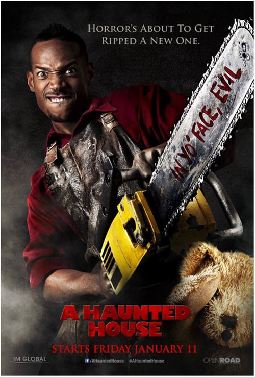 ahhp2 - A Haunted House - Read the Review; Final Two Gag Posters