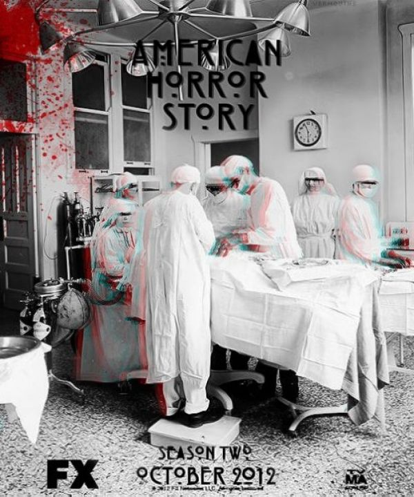First American Horror Story Season Two Teaser Poster Undergoes a Procedure