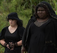 A Half Dozen Stills from American Horror Story: Coven Episode 3.05 - Burn, Witch, Burn!