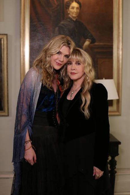 Enjoy The Magical Delights of Stevie Nicks in this Pair of Images from American Horror Story: Coven Episode 3.10