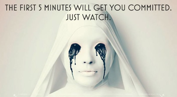 ahs5 - Dig on the First Five Minutes of American Horror Story: Asylum