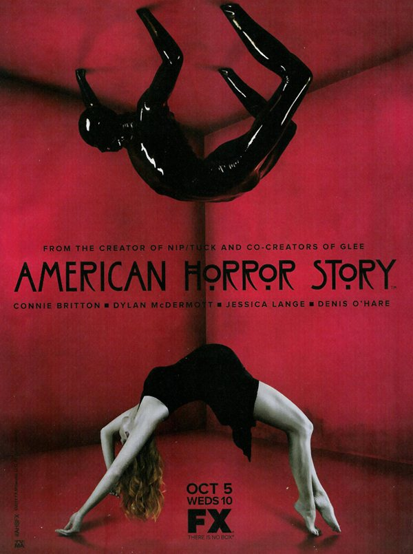 Alexandra Breckenridge, American Horror Story, Brad Falchuk, Connie Britton, Denis O'Hare, Dylan McDermott, Eric Close, Evan Peters, Frances Conroy, FX, Horror TV. Jamie Harris. Jessica Lange. Ryan Murphy, Sarah Paulson, Taissa Farmiga, Teddy Sears, Zachary Quinto