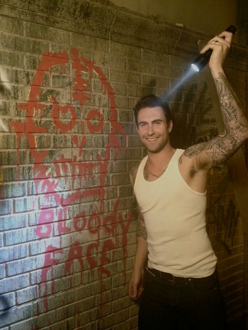 American Horror Story Season 2 - First Look at Adam Levine on Set!