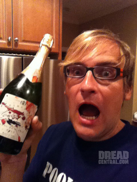 Another American Horror Story Artifact: Time for Some Bloody Champagne!