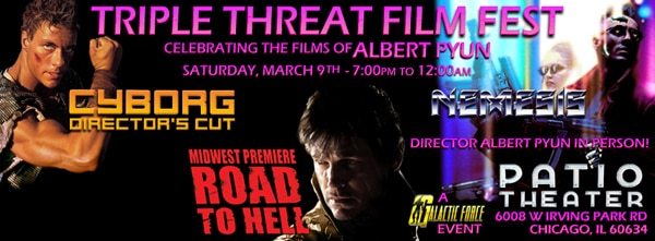 Chicago's Patio Theatre Hosting Midwest Premiere of Road to Hell with Cyborg and Nemesis