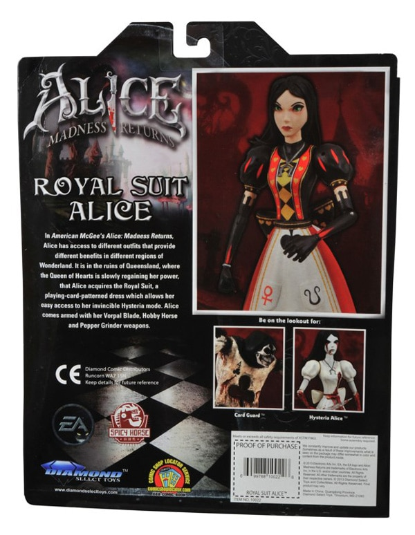 Diamond Select Brings Back Alice in Her Royal Suit from Madness Returns