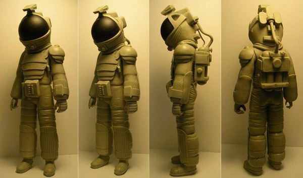 Take a Look at the Prototype for the Alien Nostromo Spacesuit by NECA