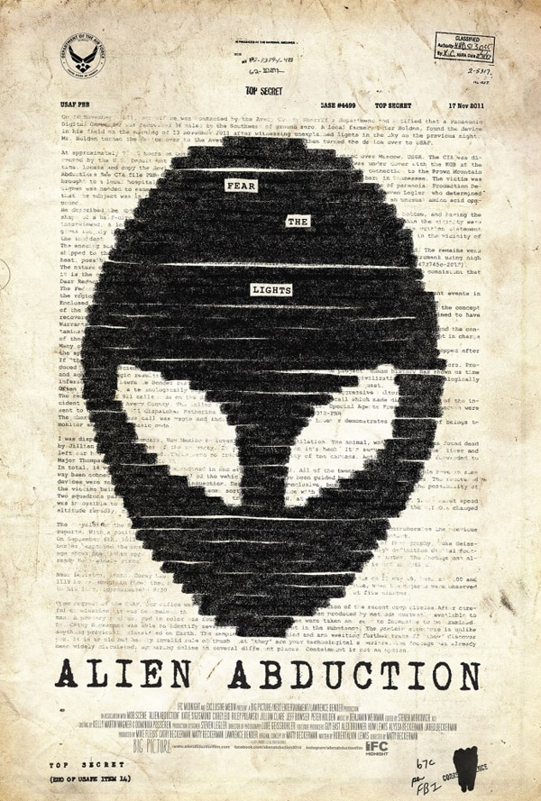 alien abduction poster - Exclusive: Matty Beckerman Talks Alien Abduction and The Brown Mountain Lights Phenomenon