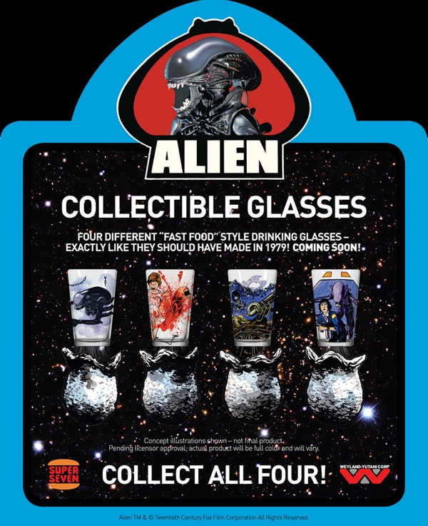 Drink In These New Alien Collectibles
