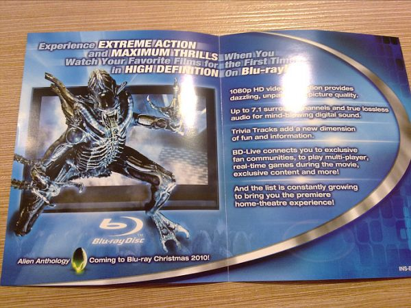 Five Words: Alien. Anthology. Blu-ray. Christmas. NEED!