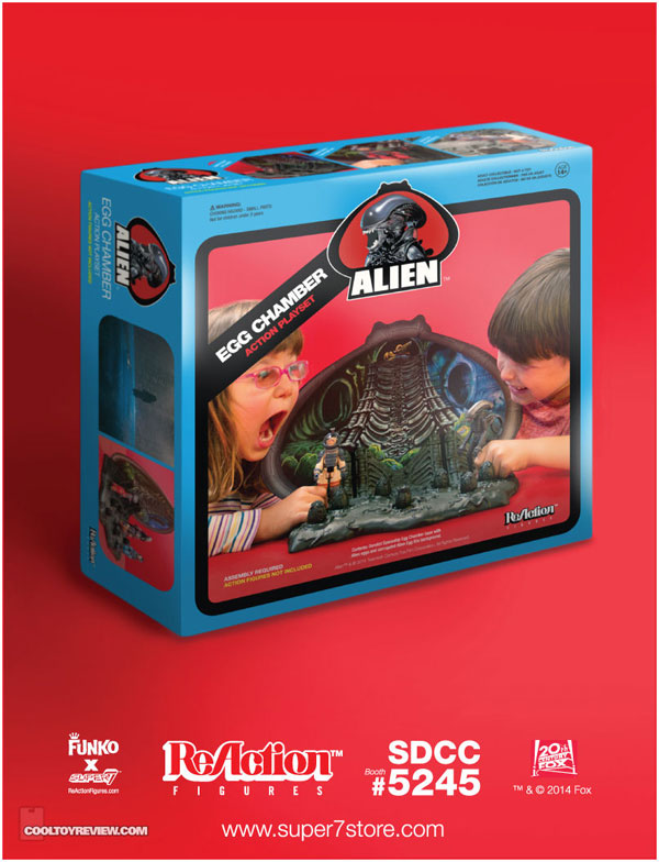 alienegg - #SDCC14: Super7 Unveils its Alien Egg Chamber Playset and Deep Space Alien Mystery Egg Exclusives