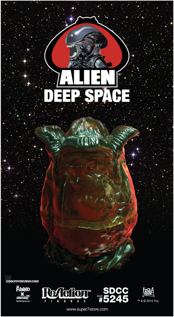 alienegg1 - #SDCC14: Super7 Unveils its Alien Egg Chamber Playset and Deep Space Alien Mystery Egg Exclusives