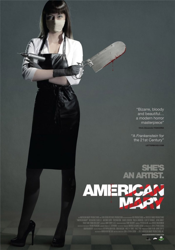 Sexy New American Mary International One-Sheet