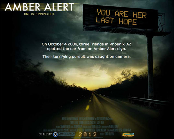 An Amber Alert Issued on VOD! New Trailer and Artwork!