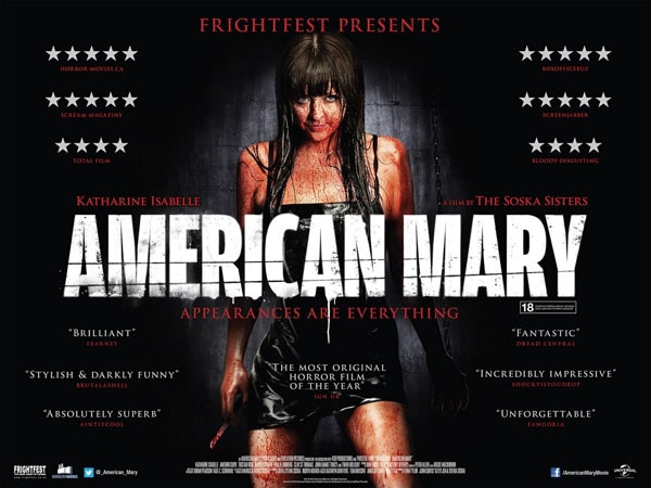 American Mary - New UK Quad One-Sheet and Image Gallery
