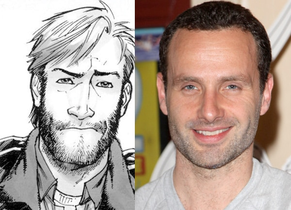 Andrew Lincoln is Rick in The Walking Dead
