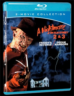 A Nightmare on Elm Street 2 and 3 Blu-ray Combo Pack