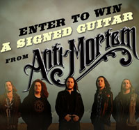 Win a Dean ML Chicago Flame Guitar Signed by Anti-Mortem