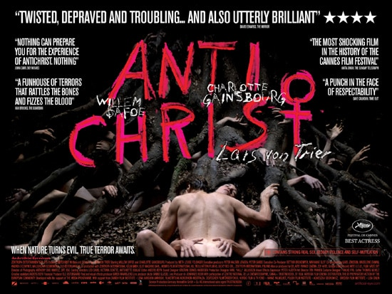 Antichrist's Tree Humping UK Quad Poster (click for larger image)