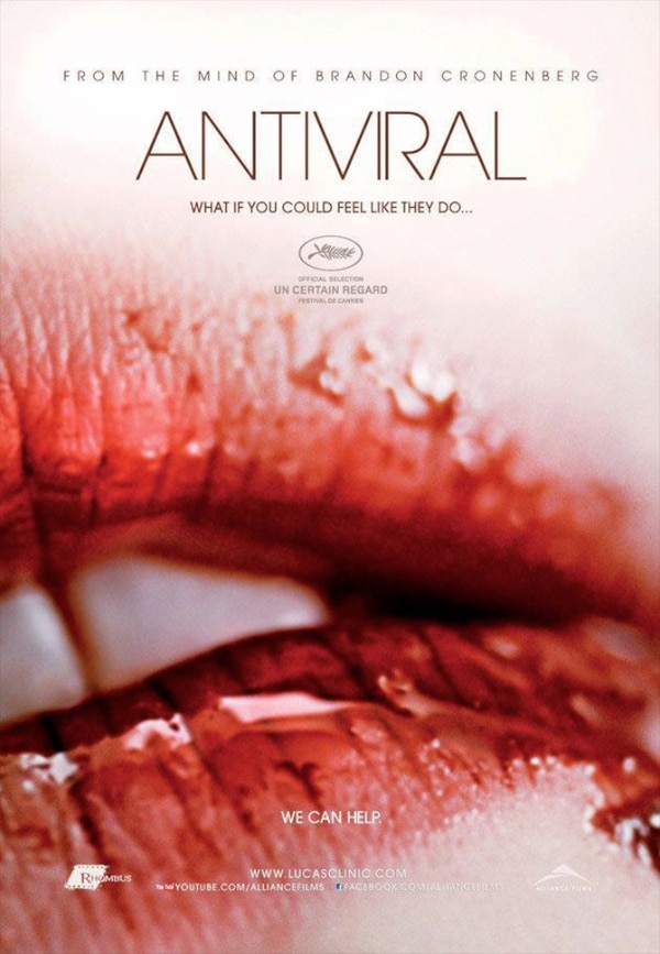 antiviral - IFC Announces Dates for Antiviral and Sightseers