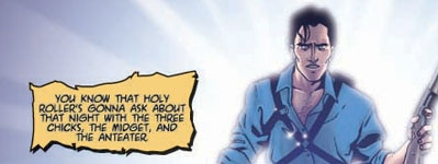 Army of Darkness #13 preview page (click to see it bigger!)
